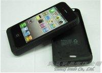 Чехол для для мобильных телефонов MOQ:1pcs, 1900mAh Back shell batteries for iphone 4 4s, For iphone1900mAh Battery Charging Po, HK/China Post, A0066