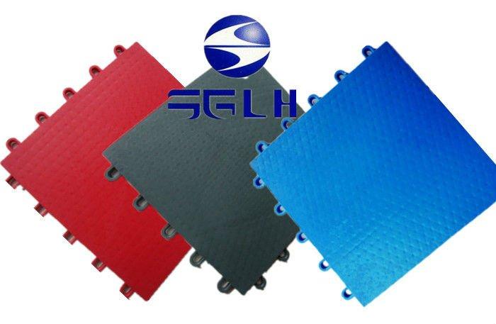 Anti-slip/Anti-agging and multi-purpose interlocking pp colorful modular suspended plastic indoor playground flooring
