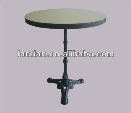 China diseños de hierro forjado patas de mesa de café para la ...