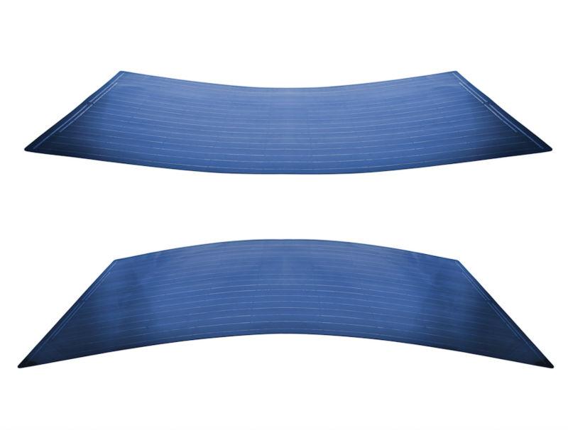 solar panel QS240W QSF 'Black Flexible Backsheet'