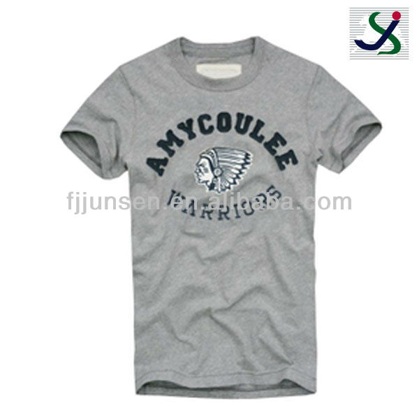 New arrival mens 100%cotton t-shirt korea design