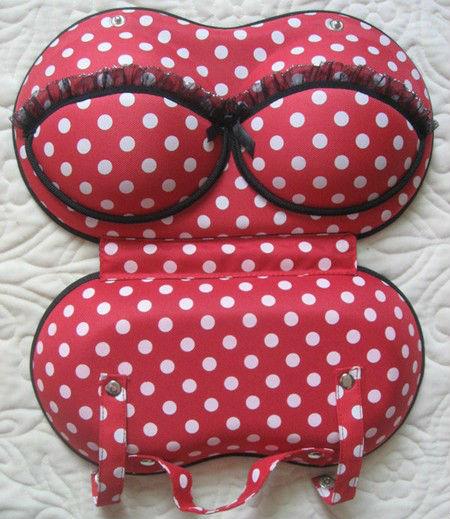 2013 portable fashion travel underwear bra bag