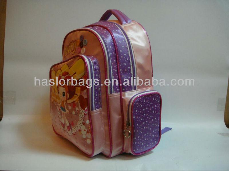 Très mignon sac à dos pour les petites filles 2013 sac d'école