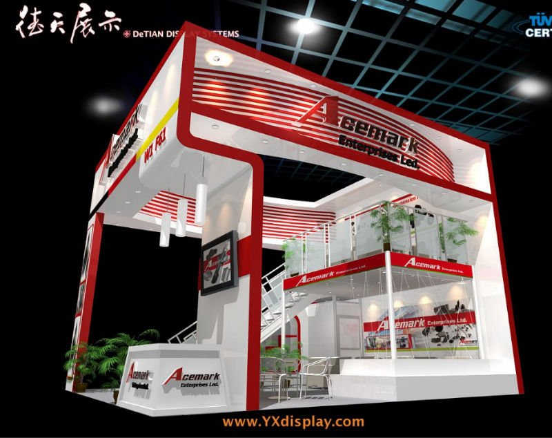 trade show booth, View trade show booth, DeTIAN Product Details