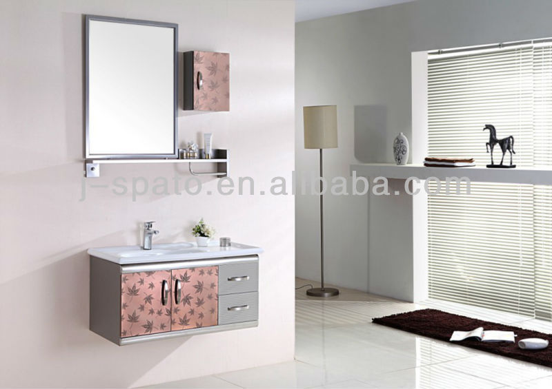 Luxury Corner Mirror Vanity Bathroom Cabinets JS-SS801