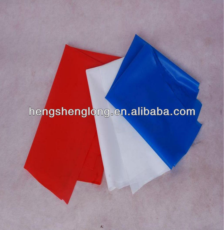 PVC Hot Melt Adhesive Cloths and Embroidery Film