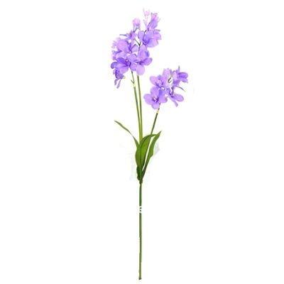 Ctaf 0010058 d corative fleur artificielle longue tige fleurs guirlande - Fleur blanche longue tige ...