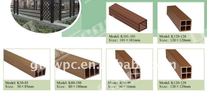 Outdoor Wpc Wood Plastic Composite White Rails Buy Wpc