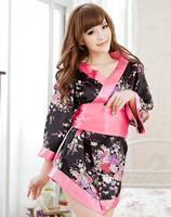 Сексуальное женское кимоно платье set.free size.sleepwearunderwear, равномерное искушение бесплатно размер w1214