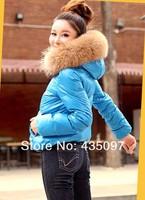 Женские пуховики, Куртки The fur coat  M-XL