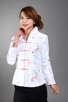 Женская куртка Burgundy New Chinese Women's Silk Satin Jacket Spring Embroidey Flowers Coat Size S M L XL XXL XXXL MN 0051