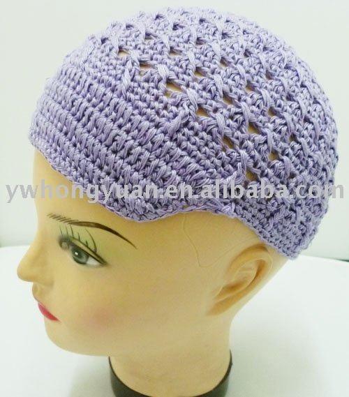 Free Kufi Beanie Hat Crochet Pattern images