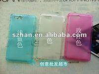 Чехол для для мобильных телефонов 2pcs/lot New Clear Soft TPU Case for Sony Xperia Go ST27i
