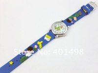Наручные часы New 180pcs/lot NEW Cartoon 3D Children Watch Good Gift kids watch Ben 10 wristwatch