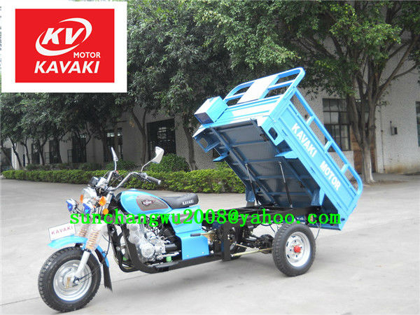 175cc new design 3 wheel motorcycle for Mali market(KAVAKI MOTOR made in Guanzhou,Hot selling,truck cargo tricycle)