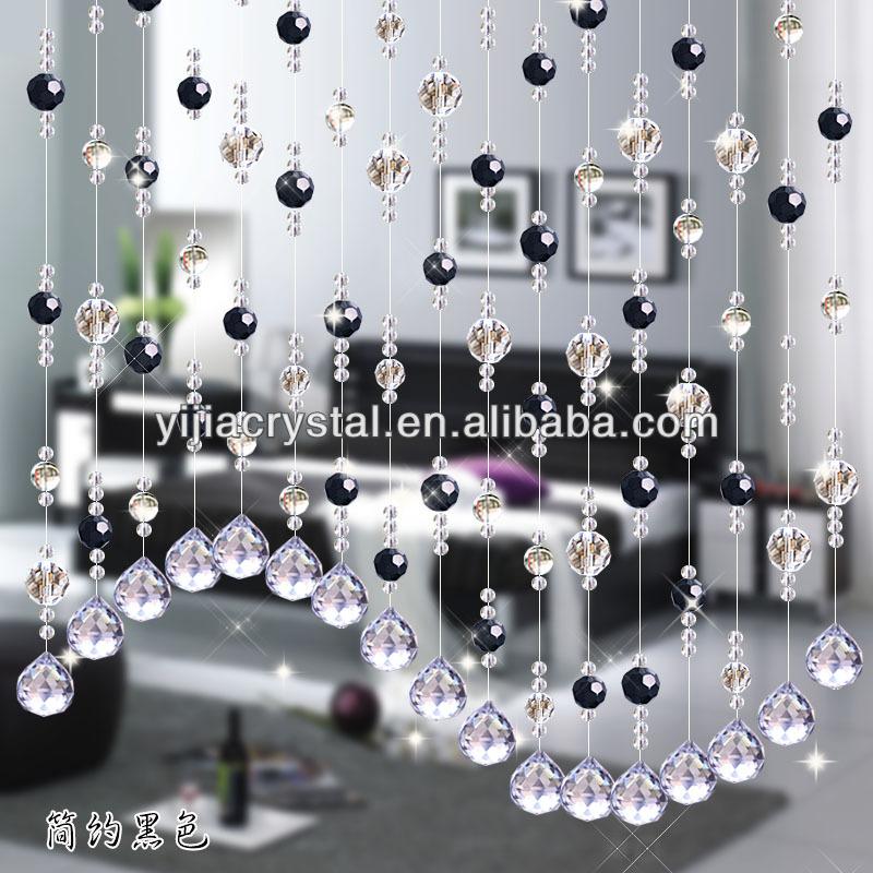 Wholesale crystal hanging door beads curtain - Crystal door curtain beads ...