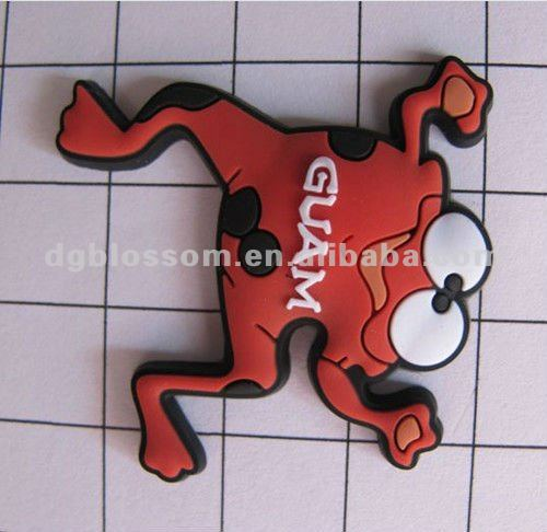 HOT 3D Soft PVC fridge magnet Rubber fridge magnet
