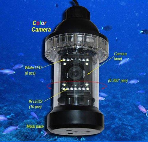 Как сделать подводную камеру для рыбалки своими руками