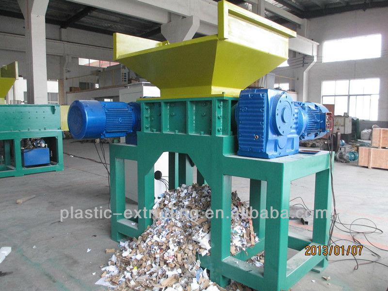 Forte puissant papier livre carton d chiqueteuse broyeur pulv risateur machin - Machine pour recycler le plastique ...