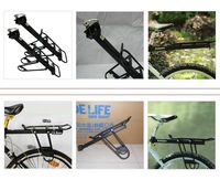 Велосипедная стойка Aluminium Alloy Rear Rack Pannier Fender Carrier, for Road Mountain Bicycle Cycling Bike
