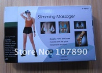 30pcs DHL UPS free shipping Slimming Massager mini massager Pulse Muscle Pain Relief Fat Burning massager