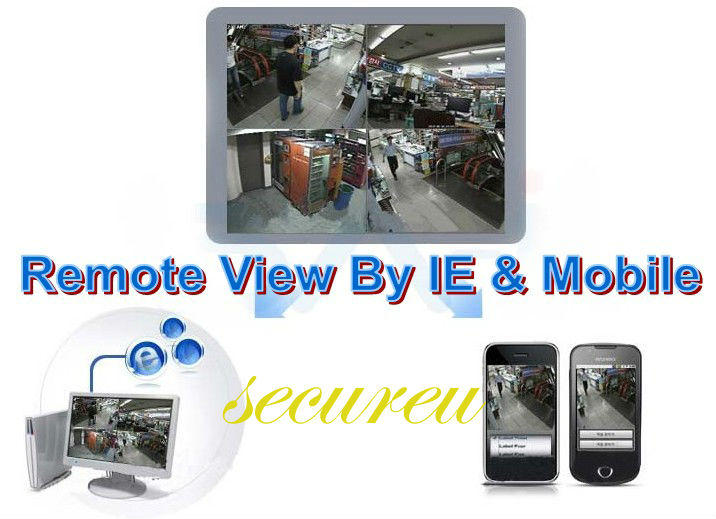 Remote View by IE and Mobile