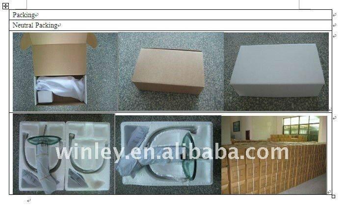 Sanitary ware single lever chrome toilet bidet faucet