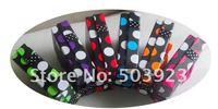 Подарочная коробка для ювелирных изделий 72pcs/lot 7*9*2.5cm Mixed Colors Round Dot Pattern Jewelry Box Packing Box Gift Box