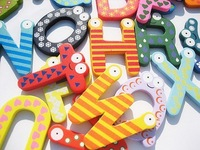 Магниты на холодильник Creative items/ Wooden fridge magnet sticker/ Fridge magnet/Refrigerator magnet, 26pcs/Set E055