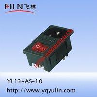 Электрическая вилка FILN 250V yl13/10 YL13-AS-10