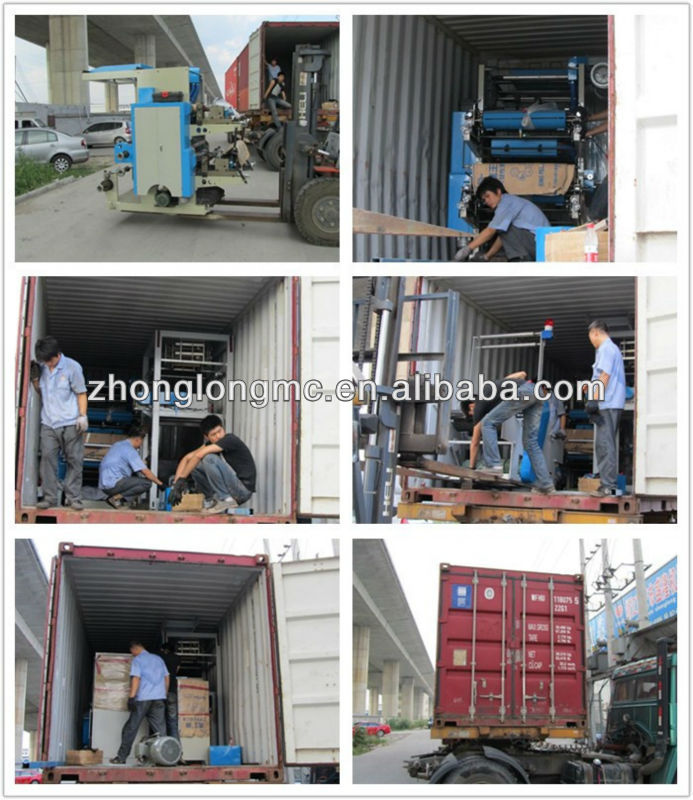 Plastic bag film blowing machine
