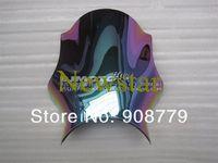 Free Shipping New Iridium Motorcycle Windshield Windscreen for Kawasaki ZRX400 ZR400 Guaranteed 100%