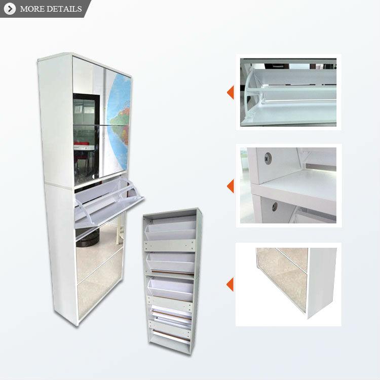 Mirror Shoe Cabinet 3