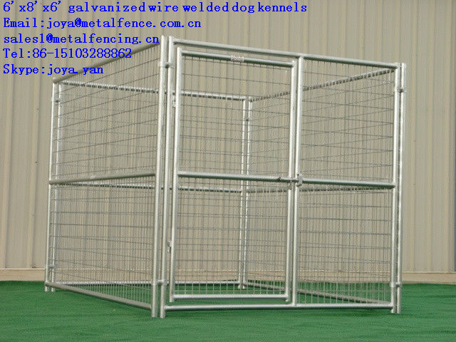 Factory supply strong metal welded anti rust dog fence panel