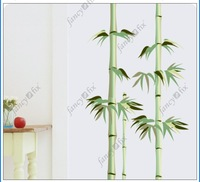 Стикеры для стен removable bamboo art mural vinyl wall sticker, home decor