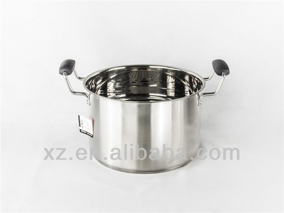 24~30cm 201# Stainless Steel Food Steamer
