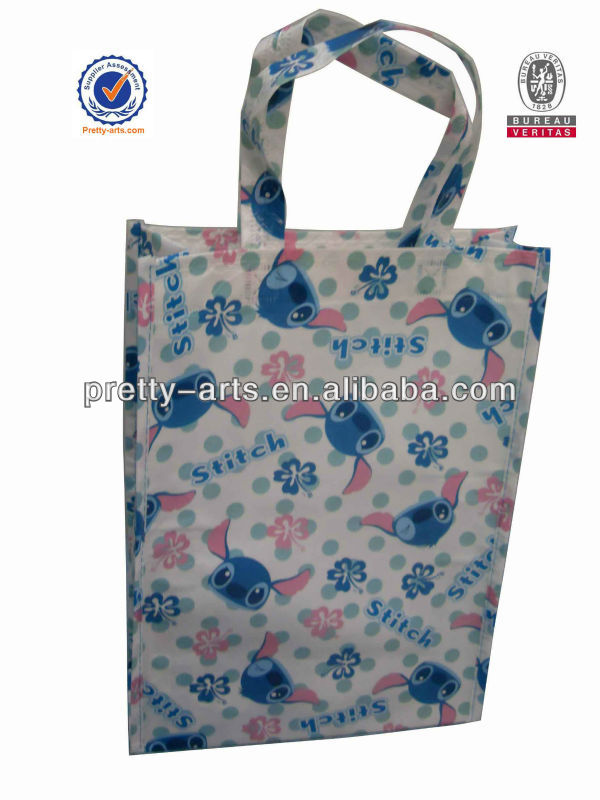 rabbit recycled shopping bag
