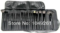 Кисти для макияжа Makeup Brushes 24 Brand Black Make Up Brush Set professional 24 pcs makeup tools Brushes brush set makeup tools