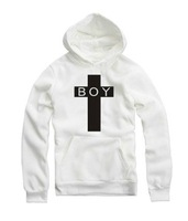 East Knitting Free Shipping FH-138 Women/Men Cross London BOY Loose Long Sleeve Hoodies Plus Size Sprint/Autumn Style