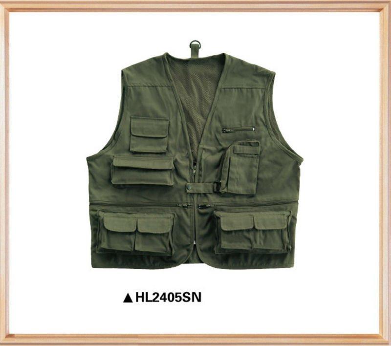 Multi pocket Fishing Vest