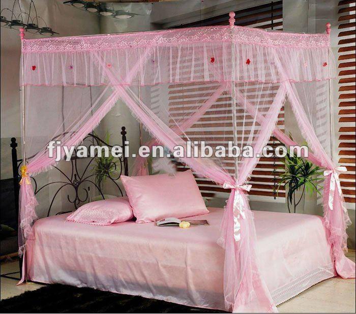 Como hacer un pabellon de cama imagui - Mosquiteras para camas ...
