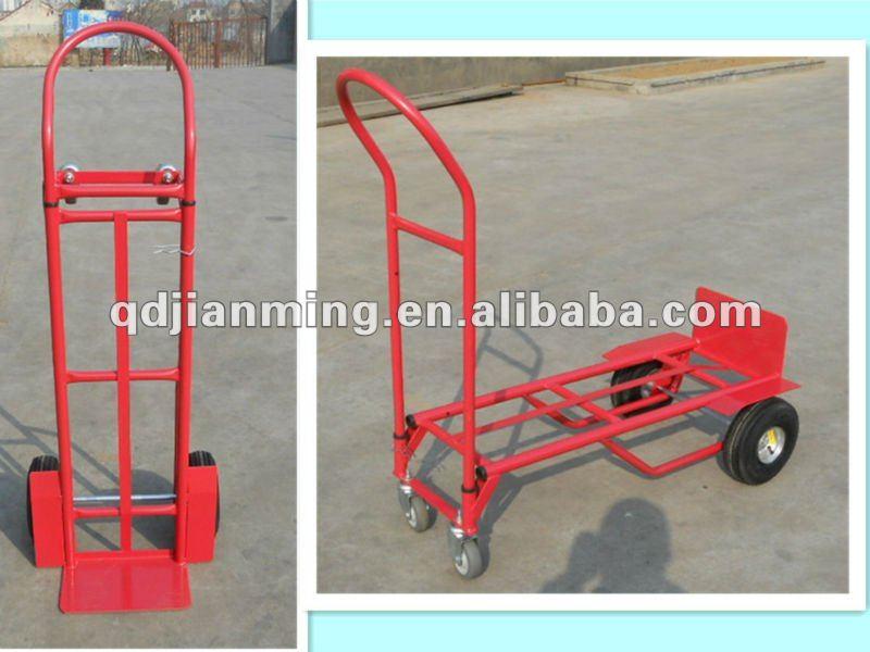 Platform heavy duty folding hand truck trolley