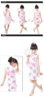 Free shipping Chinese traditional kids/ childrens qipao cheong-sam
