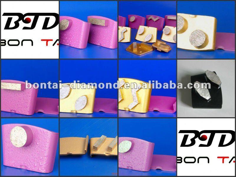 HTC Metal Bonded Diamond Abrasive Plate for Conrete and Terrazzo Floor
