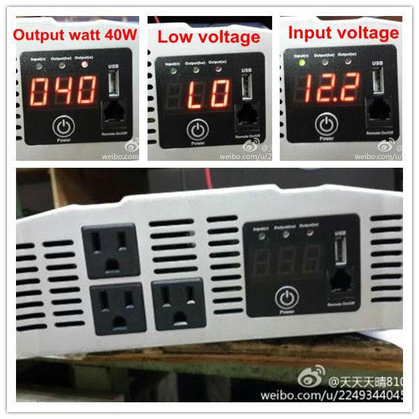 2000-Watt Pro Power Inverter w/ Smart Surge Control