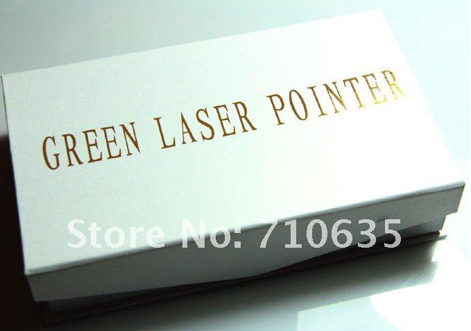 Promotion 5000MW Green Laser Pointer with Battery in Set for 10000M / FREE SHIPPING 5000MW Laser Pointer Pen with Charger Retail
