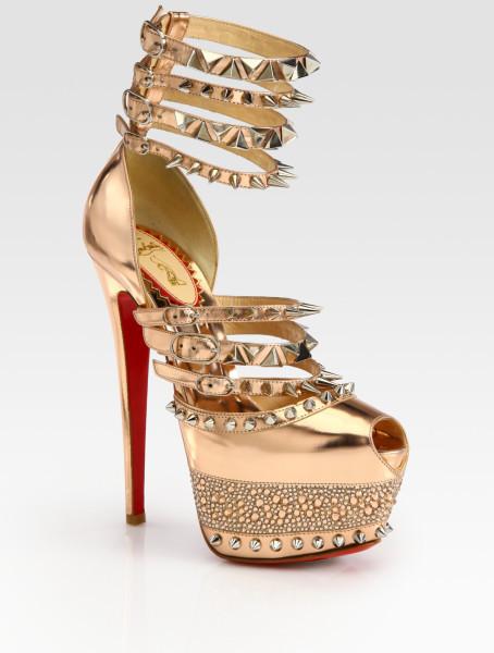 Туфли на высоком каблуке  cl001