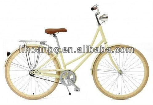 26 Dutch City bike with shimano 7 speed