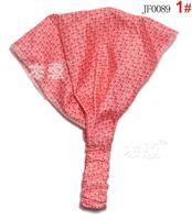 Детский аксессуар для волос 6 Colors 15PCS/Lot Dot Printing Cotton Baby Headband Children Girl Bandanas Headscarf Band 1-3 Year Kids Girls