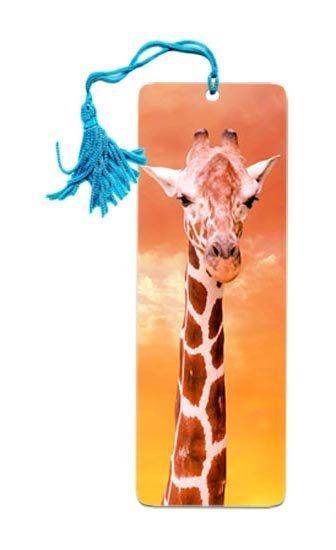 Free shipping 3d animal bookmarks lenticular  custom  animation card bookmark 3d card